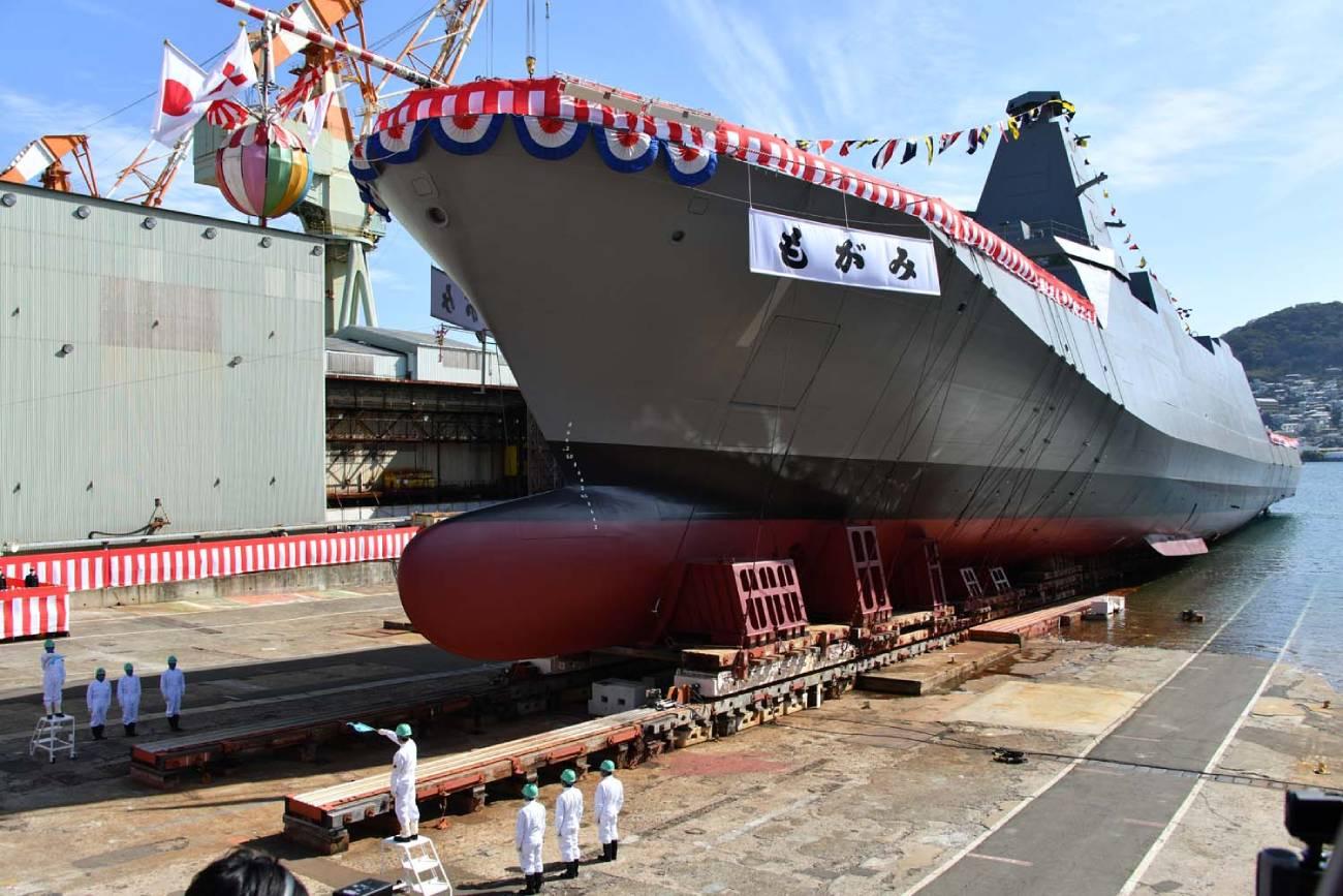 米メディア、海自の「もがみ型護衛艦」はLCSサイズで柔軟性と攻撃力の ...
